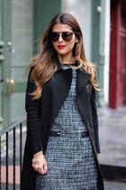 black vest ann taylor vest - navy tweed ann taylor dress