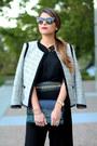 Ann-taylor-jacket-clutch-zara-bag-cat-eye-asos-sunglasses