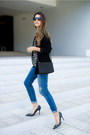 Blue-ripped-asos-jeans-black-sheer-maison-scotch-top