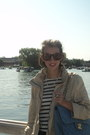 Zara-shirt-h-m-jeans-denim-chanel-bag-ray-ban-sunglasses-zara-flats