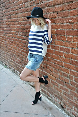 wool hat H&M hat - H&M shirt - Forever 21 shorts