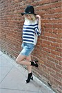 Wool-hat-h-m-hat-h-m-shirt-forever-21-shorts