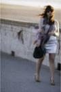 Forever-21-hat-gap-sweater-miu-miu-scarf-gap-skirt-zara-heels