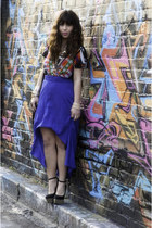 Jeffrey Campbell shoes - Rad and Refined bag - luluscom skirt - RGB Gallery top
