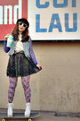 Hot-pink-urban-outfitters-tights-silver-lulus-shoes