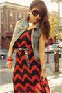 Crossroads-trading-co-dress-prada-sunglasses-vintage-belt-forever-21-vest