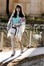 Ivory-random-skirt-beige-bcbg-shoes-ivory-vintage-scarf