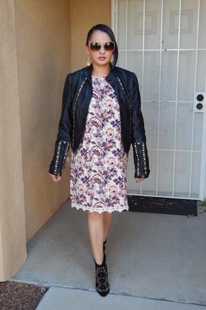 black JCPenney jacket - coral Target dress