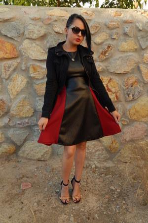 black Charlotte Russe dress