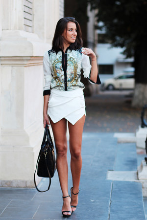choiescom shirt - Zara shoes - choiescom shorts