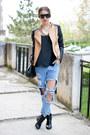 Stradivarius-boots-sheinside-jeans-sheinsidecom-jacket-romwe-glasses