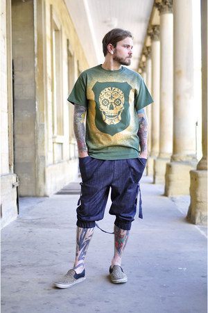 dark green The Left Bank t-shirt - navy The Left Bank pants