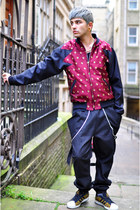 maroon The Left bank by Hardy Punglia jacket