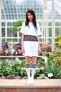 White-the-left-bank-by-hardy-punglia-dress-white-american-apparel-socks