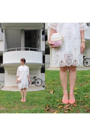bubble gum wooden heels new look heels