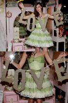 green Betsey Johnson dress