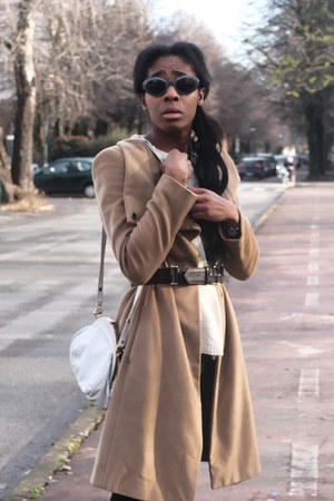 Pennyblack coat - leather Zara shorts