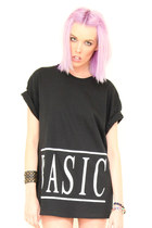 basic t-shirt LESS Clothing t-shirt