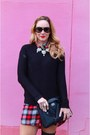 Stuart-weitzman-boots-red-forever21-dress-forever-21-sweater