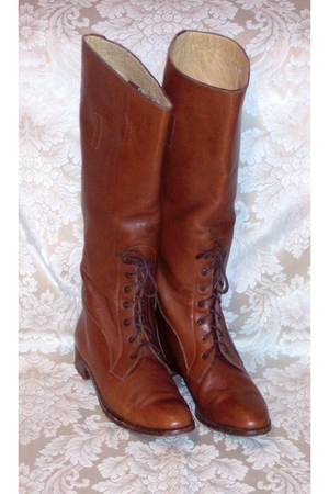 brown Ralph Lauren boots