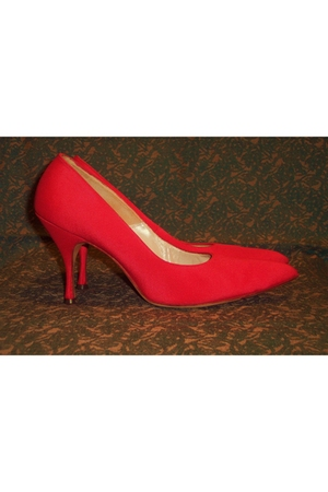 red Cameo Room shoes