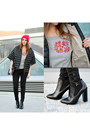 Black-pointed-zign-boots-hot-pink-asos-hat