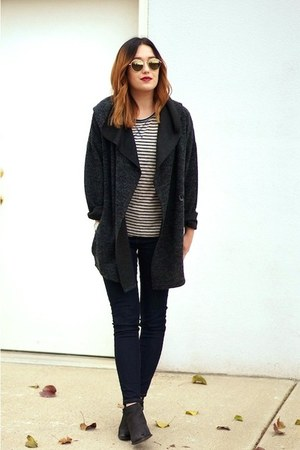 gray piperlime cardigan