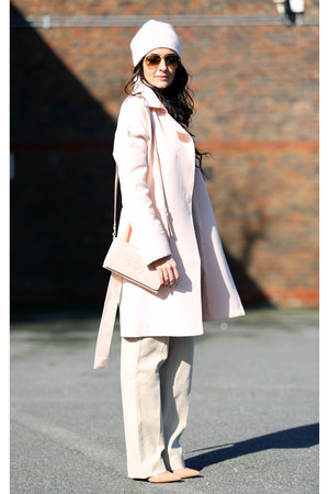 Mango coat - tory burch bag