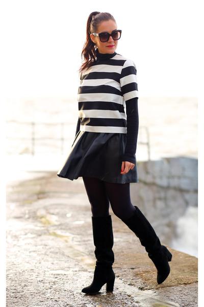 Topshop skirt - H&M top