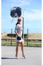 Zara dress - new era hat - Chanel bag - Zara sandals