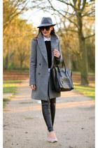 Zara coat - Topshop hat