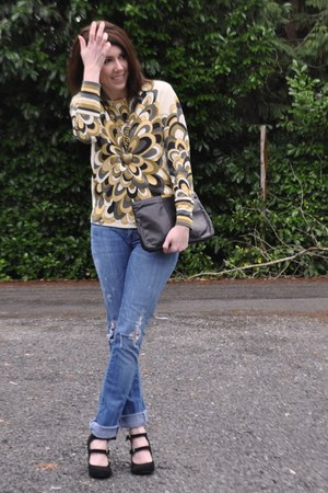 Urban Outfitters heels - citizens of humanity jeans - vintage shirt