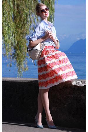 backpack Primark bag - New Yorker sunglasses - Primark skirt