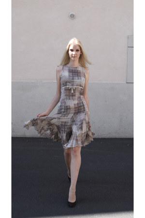 JIKI dress - brown LK BENNETT London heels