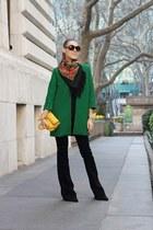 black Jeepers Peepers sunglasses - green Rhyme Los Angeles coat