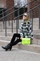 yellow the cambridge satchel company bag - black Nero Bianco boots
