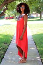 red TJ Maxx dress