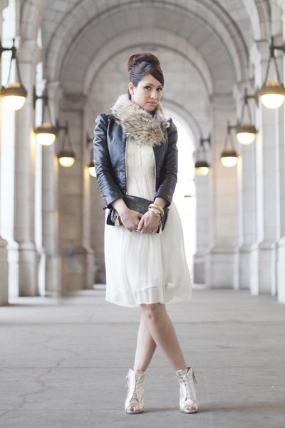 BCBG dress - H&M jacket