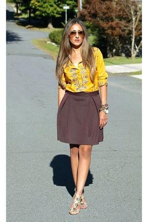 gold ray-ban sunglasses - gold Nanette Lepore heels