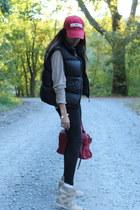Polo Ralph Lauren vest - Steve & Barrys hat - Urban Outfitters sneakers