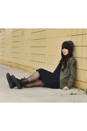 military jacket TNA jacket - lace up Dr Martens boots