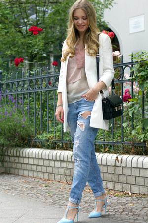 Zara coat - PROENZA SCHOULER bag - Zara heels