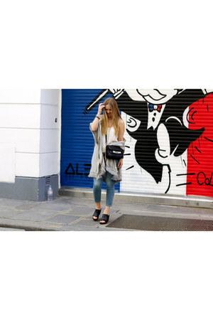 Esprit jeans - Esprit jacket - vagabond wedges