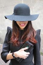 black Margiela dress - black vintage bag