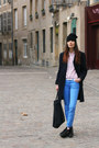 Underground-shoes-ekyog-jeans-maje-purse-h-m-socks-ekyog-blouse
