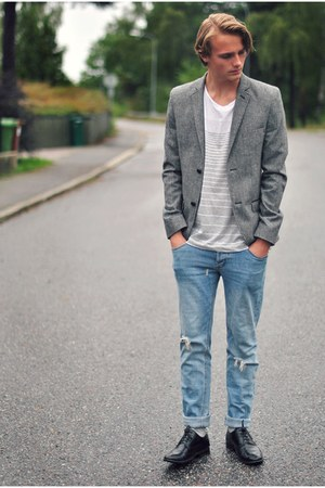 Topman blazer - Din Sko shoes - Cheap Monday jeans - H&amp;M t-shirt