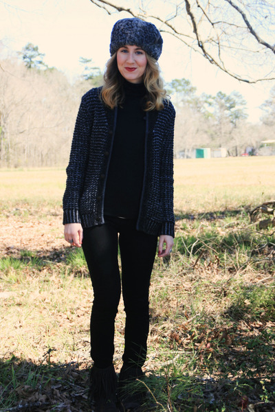 Rag & Bone Target sweater - sam edelman boots - Ralph Lauren Polo shirt