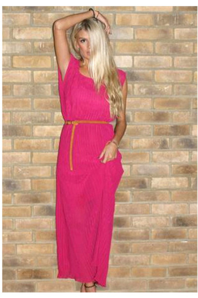 hot pink Never Fully Dressed dress