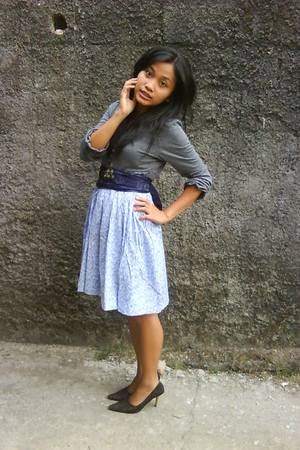 dress - scarf - skirt - shoes
