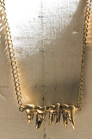 Triskaidekaphobia necklace